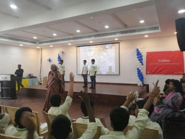 Astronomy workshops with the Nehru Planetarium